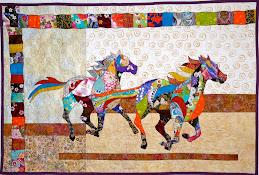Chelsea's Japanese Horse Quilt