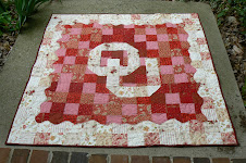 Baby Quilt for the new Boomer Sooner