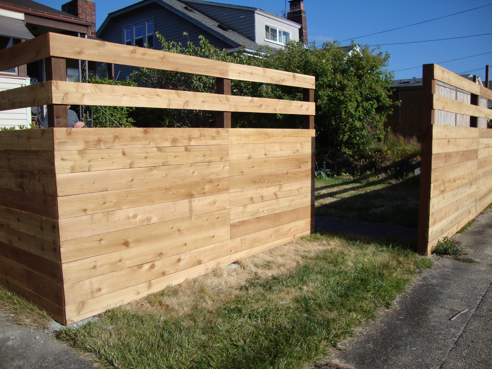 Another new fen... Yard Fencing