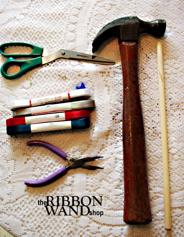 The ribbon wand shop celebration streamer wand tutorial for Ribbon wands
