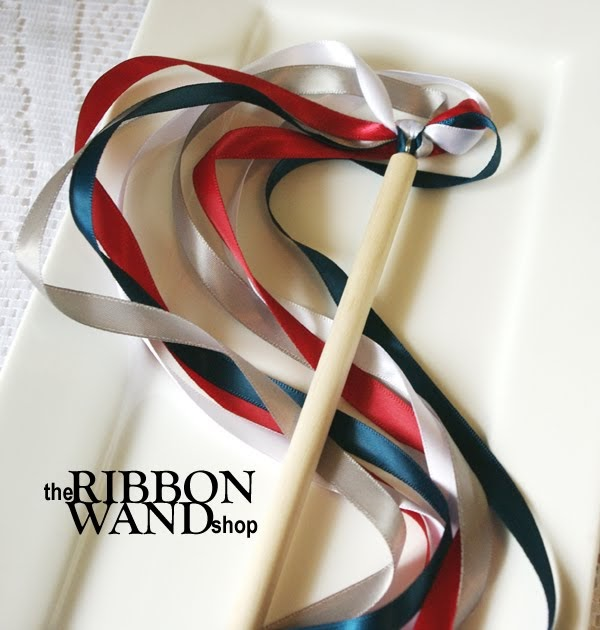 May The Fourth Be With You Wedding Favors: The Ribbon Wand Shop: Celebration Streamer Wand Tutorial