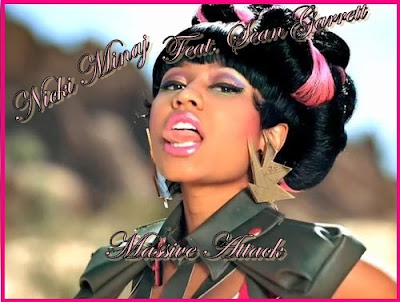 nicki minaj massive attack makeup. nicki minaj massive attack