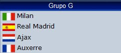 Grupo G Champions League