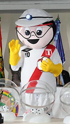 Mascota del Sudamericano Sub 20 Perú 2011