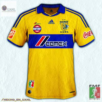 Nuevo Uniforme Tigres UANL del 2011