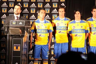 Nueva Camiseta Tigres UANL del 2011