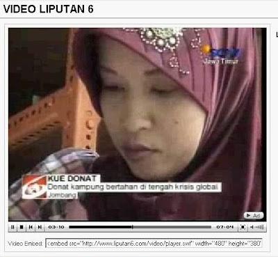 Akhirnya Tembus SCTV, Donat Kampung Utami di Liputan 6 JATIM