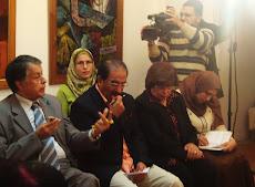 صور افتتاح معرض انعكاس -  القاهرة 2009