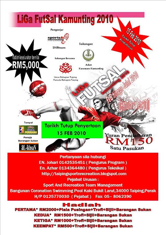 Broser Liga Futsal Kamunting 2010