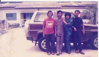 Arwah bersama ibu, udin & nain ( 1990 ) kt rumah 608