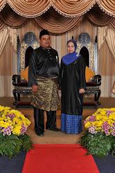 Zul & Wani Semasa abik Pingat  PJM  ( Pingat Jasa Masyarakat )