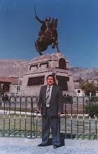 Me dicen Salo Huamani desde niño en homenaje a mi abuelo el cantor de la iglesia de Colca