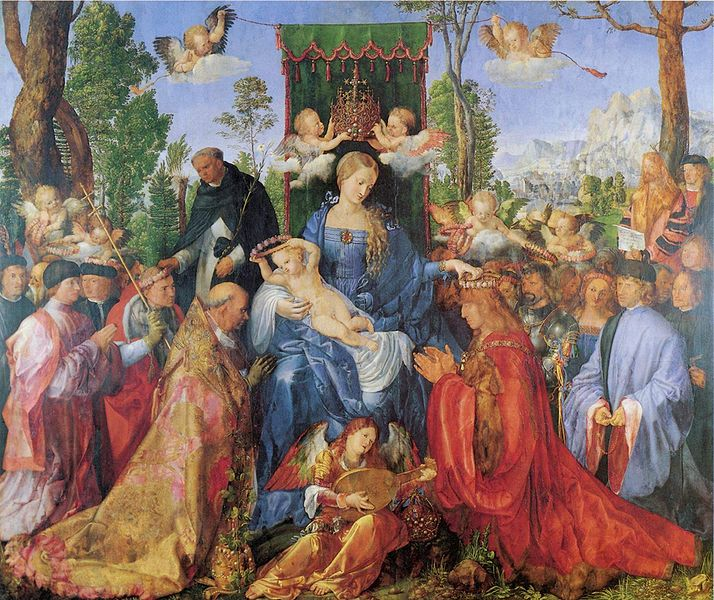 OIL PAINTS THAT COULD KILL DID ALBRECHT AND MARGRET DURER POISON - Painting that kills you