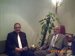 مع الرمز المفكر والمؤرخ العربى الكبير دكتور محمود اسماعيل