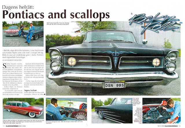 Pontiacs and scallops