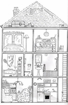 Coloriage de maison a imprimer gratuit liberate for As tu un animal a la maison