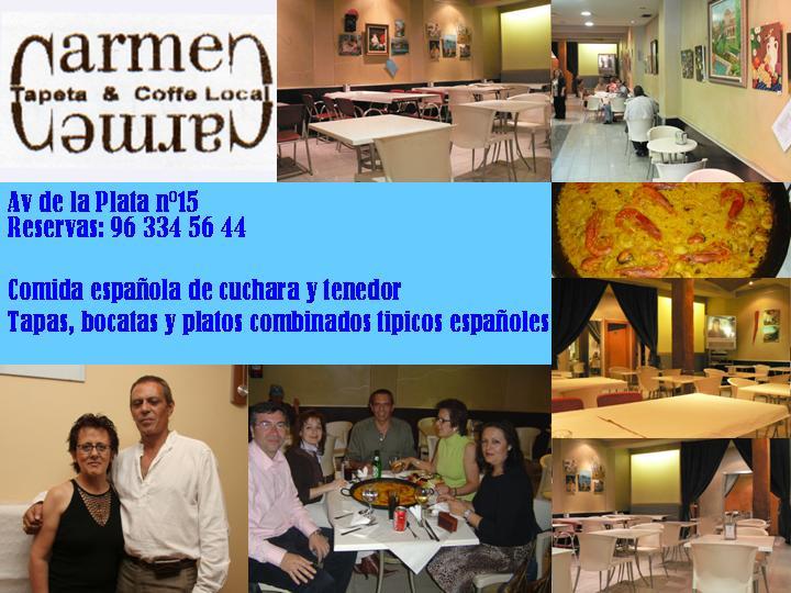 CARMEN CARMEN COMIDA CASERA A MUY BUEN PRECIO