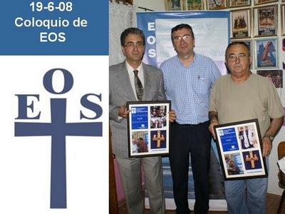 LOS GALARDONADOS CON LA CREU MARINERA 2008 CON EL PRESIDENTE DE EOS