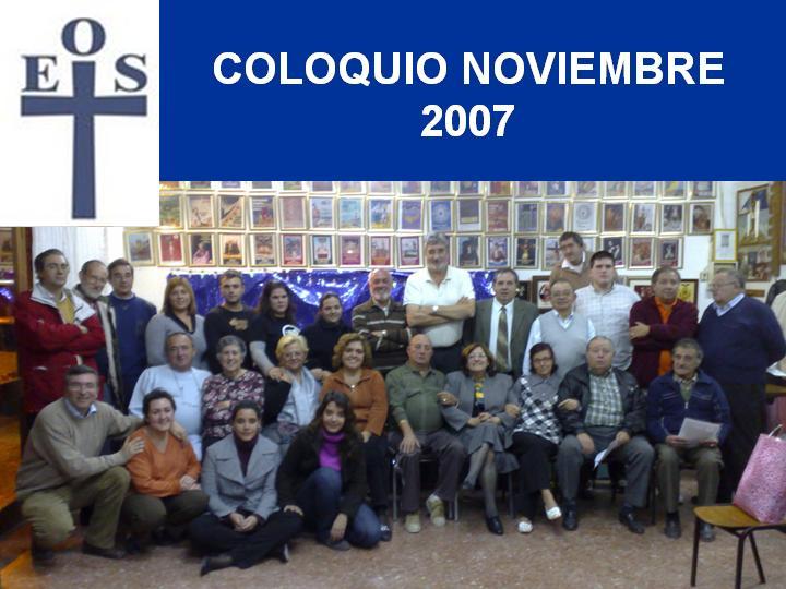 COLOQUIO NOVIEMBRE 2007