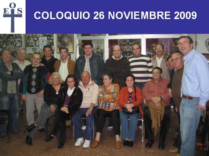 COLOQUIO 26 DE NOVIEMBRE DE 2009