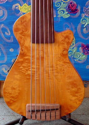 gorgeous bass guitar