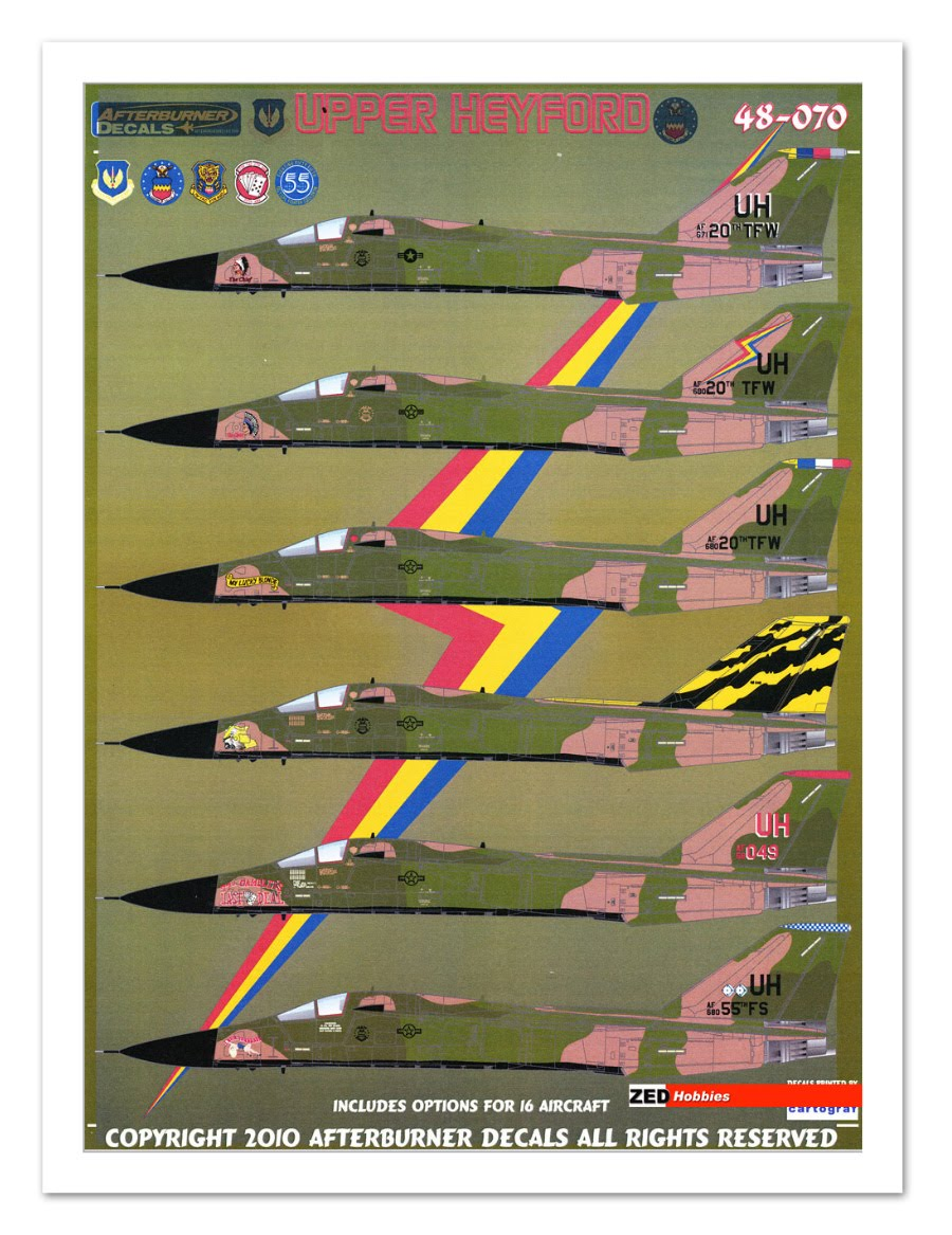 decals f 111e 20thtfw upper heyford 1 48 description this decal ...