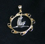 My Whooping Crane Pendant