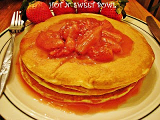 strawberry delicious pancakes pic