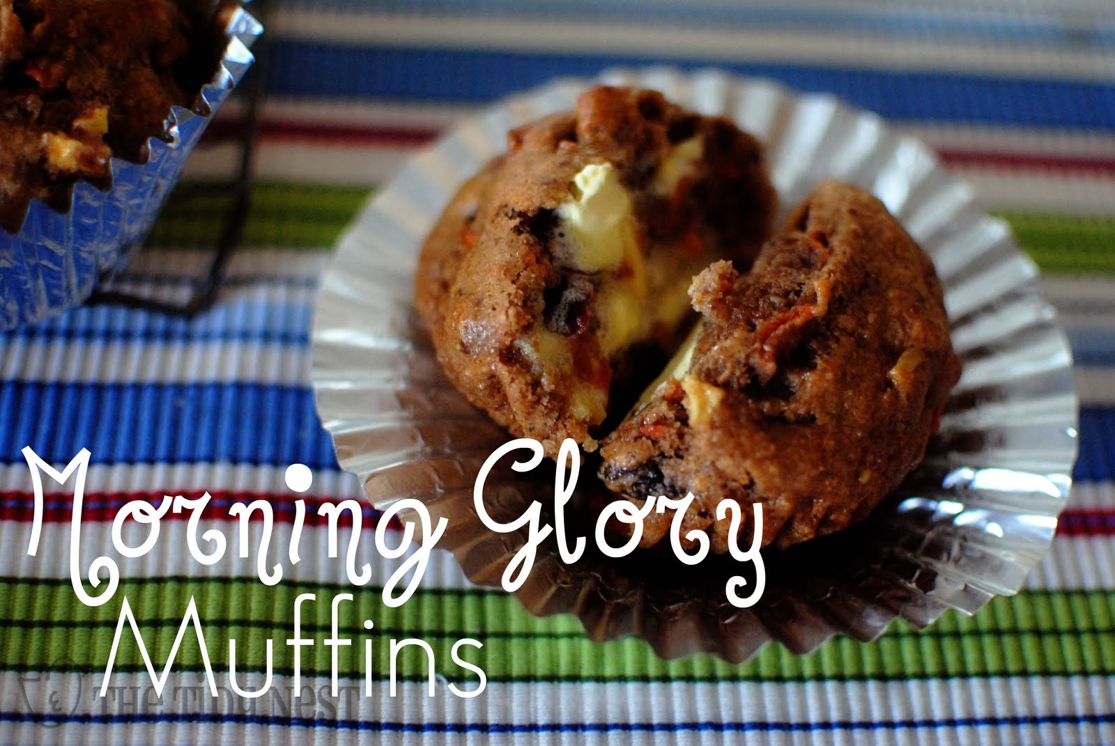 The Tidy Nest: Morning Glory Muffins