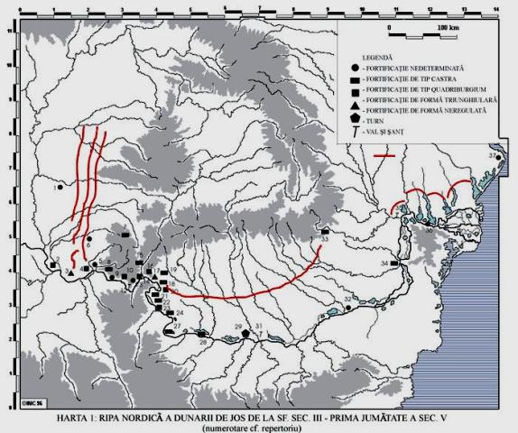 Fortificatie romana la Rogova