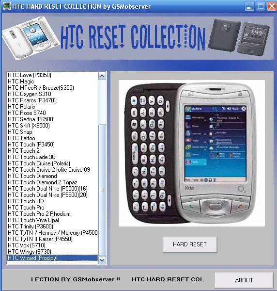 Pda phone rom update utility for htc p3400i