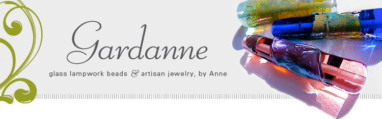 Gardanne Glass Lampwork Beads and Artisan Jewelry