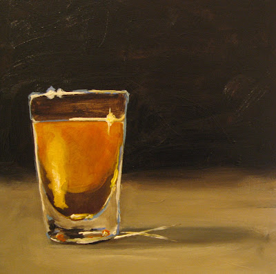 One painting a day images frompo for Best tequila shot recipes