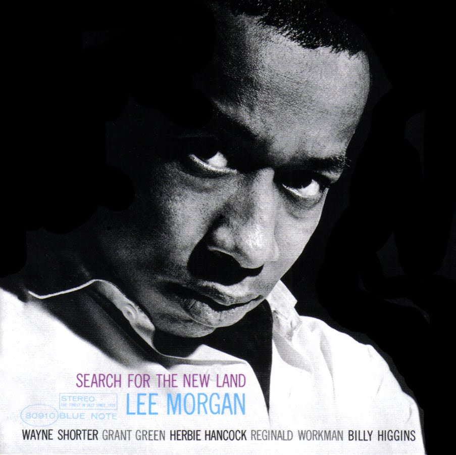 lee morgan - search for the new land (sleeve art)