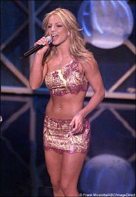 Britney spears had a great body