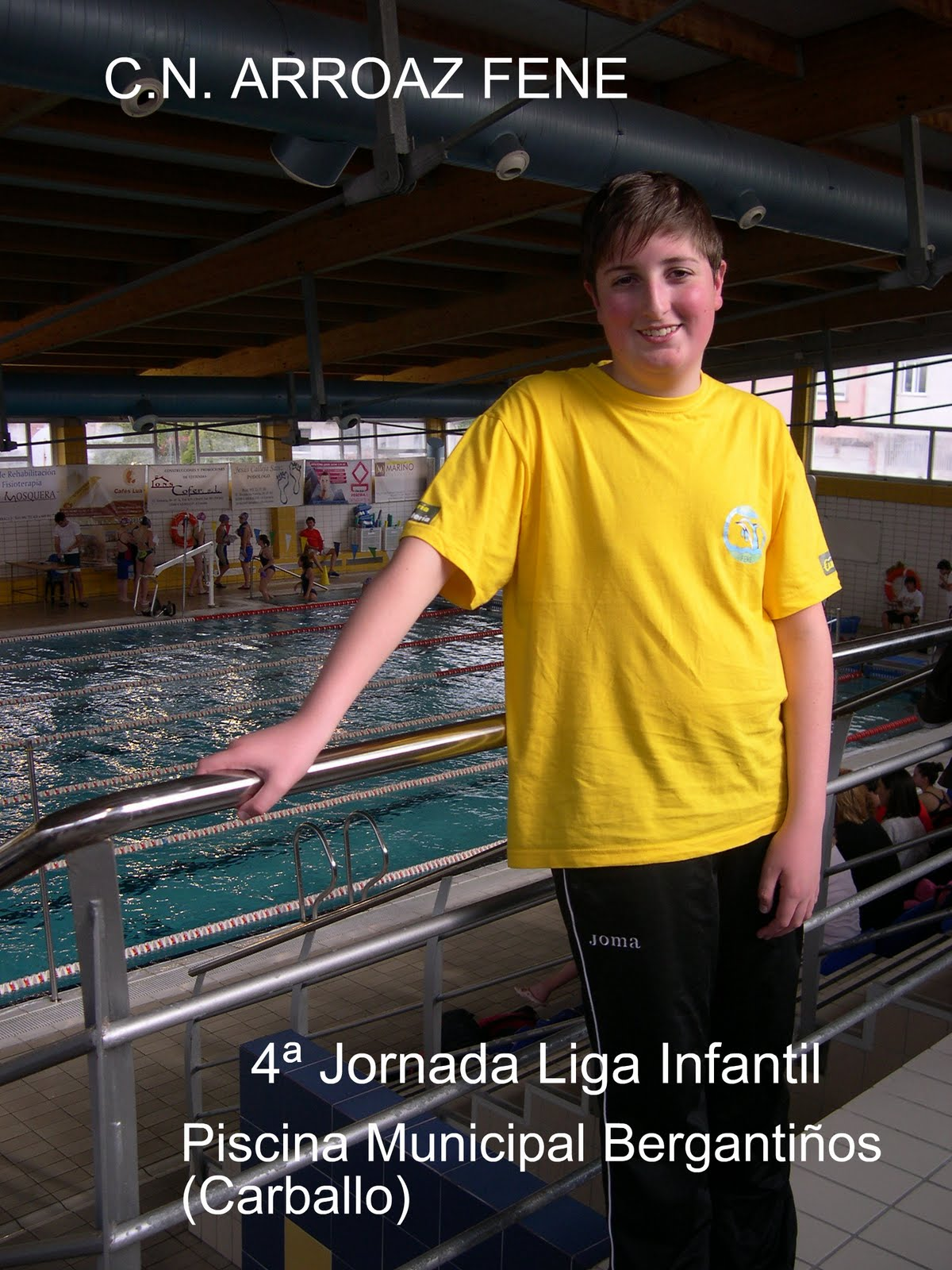 Club nataci n arroaz fene mayo 2010 for Piscina carballo