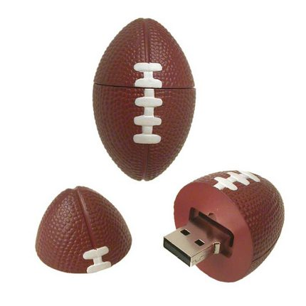 Rugby football USB flash drive