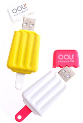 Ice Lolly USB Flash Drive