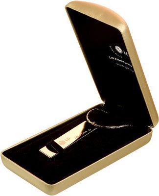LG Golden USB thumb drive
