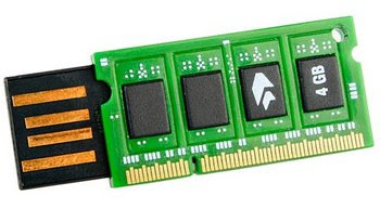 DDR RAM 4GB  USB thumb drive