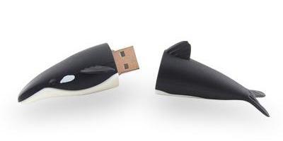 Whale USB memory