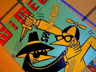 Photo: Spy vs Nerd Wired Cover