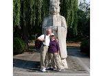 David and I in China 2007