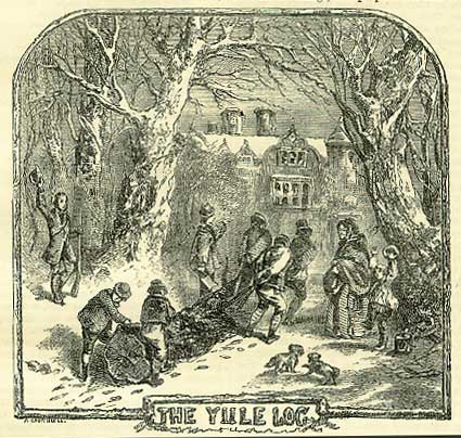 burning yule logs is a tradition dating back long before the birth of ...