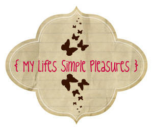 { My Lifes Simple Pleasures }