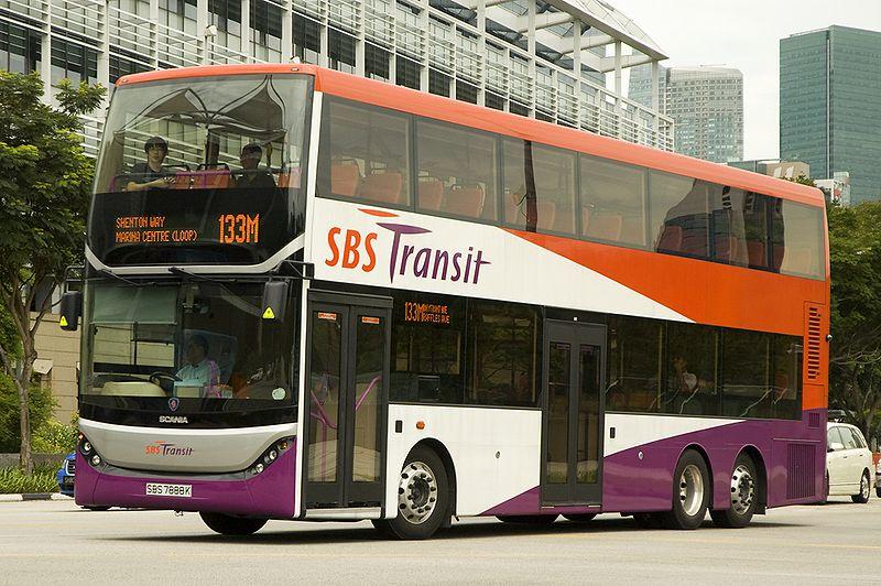 SBS TRANSIT and SMRT(MRT SYSTEM STARTED>>>7 NOVEMBER 1987): SCANIA ...