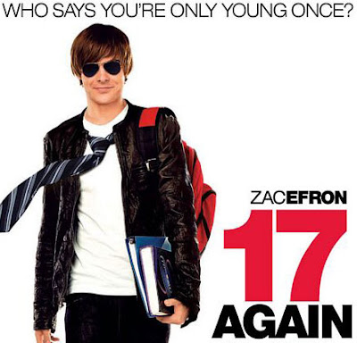 "Filmes ""Guilty Pleasures"" 17again"