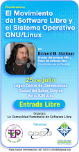 Richard Stallman en Panamá