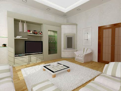 White-living-room-picture