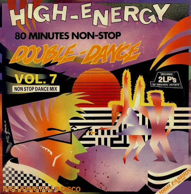 High Energy Double Dance - Volume.7 1987 80 Minutes Non-Stop mix (2LP Set)